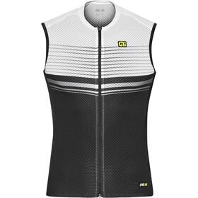 Alé Cycling Graphics PRR Slide Mouwloof Fietsshirt Heren wit/zwart